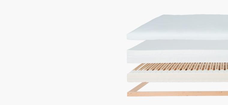 Schlafsystem Ergovlex Keine Kompromisse, Perfektion im Detail... Genau mein Bett. 3-schichtiger Komfort mit vielen individuellen Variationsmöglichkeiten.